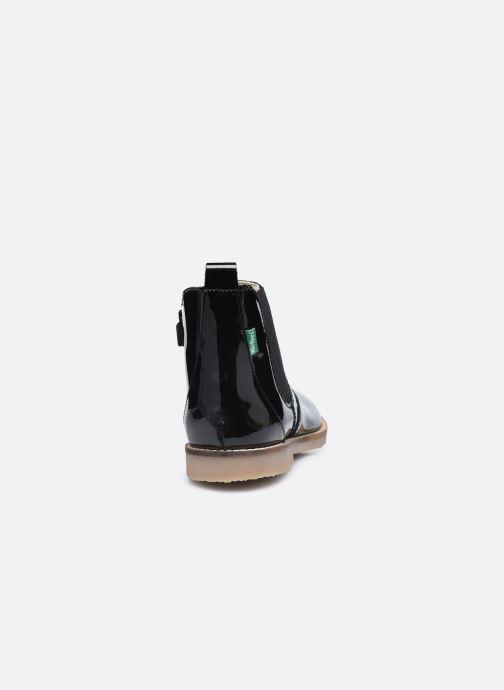 Stiefeletten & Boots Kickers Typik schwarz ansicht von rechts