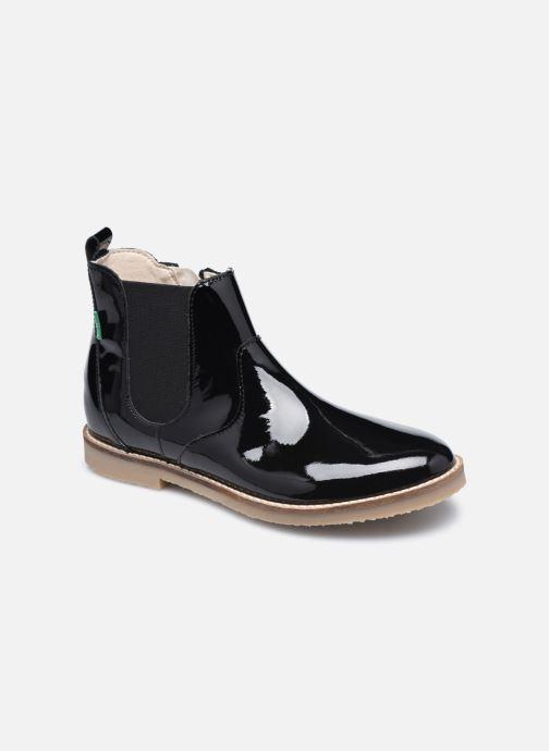 Bottines et boots Kickers Typik Noir vue détail/paire