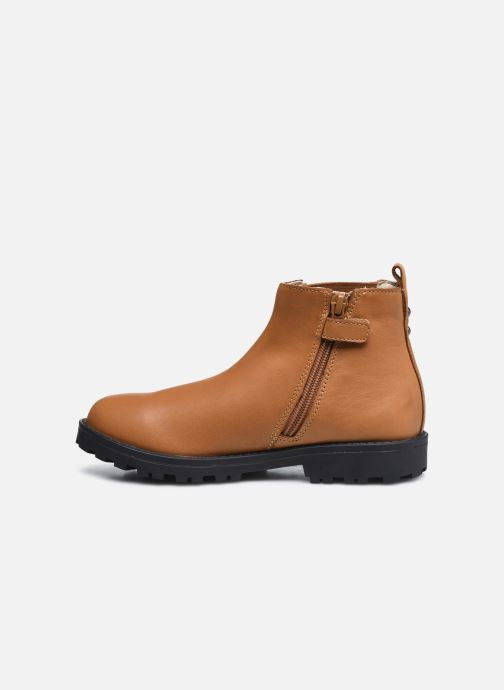 Stiefeletten & Boots Kickers Grooky braun ansicht von vorne