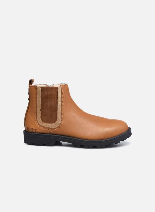 Stiefeletten & Boots Kickers Grooky braun ansicht von hinten