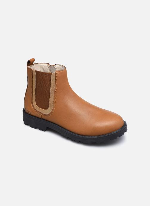 Stiefeletten & Boots Kickers Grooky braun detaillierte ansicht/modell