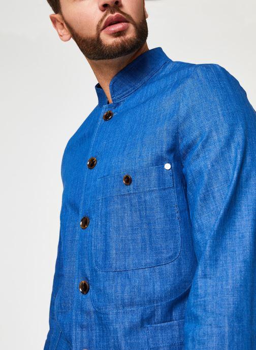 Vêtements Scotch & Soda Ams Blauw Indigo Blazer Bleu vue face