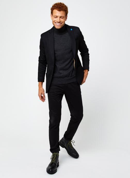 Vêtements Scotch & Soda Ams Blauw Indigo Blazer Noir vue bas / vue portée sac