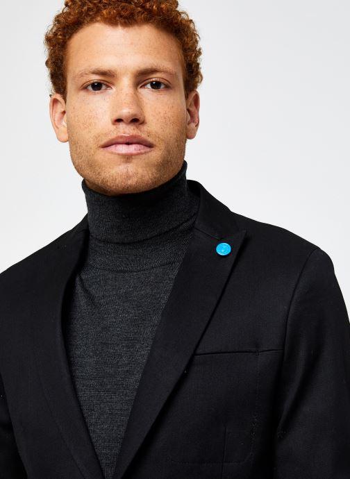 Vêtements Scotch & Soda Ams Blauw Indigo Blazer Noir vue face
