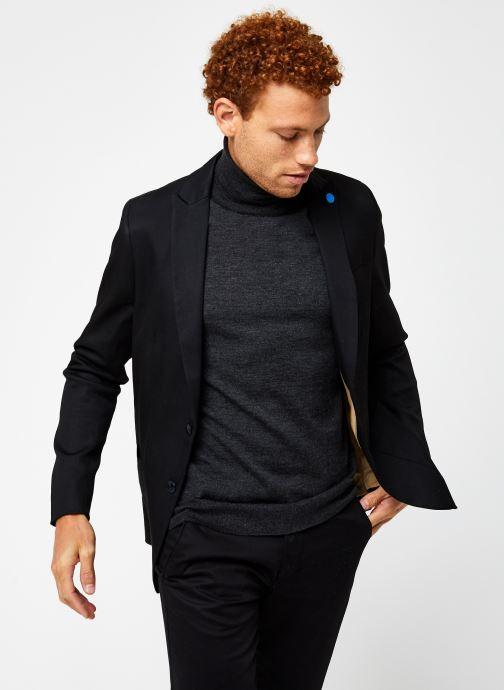 Vêtements Scotch & Soda Ams Blauw Indigo Blazer Noir vue détail/paire