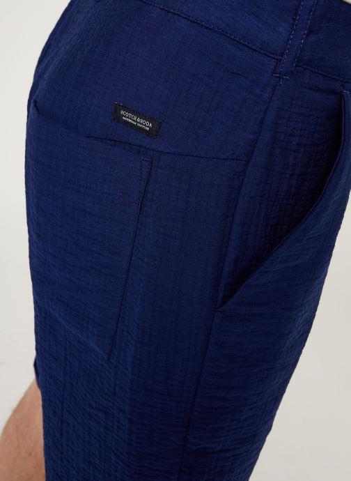 Vêtements Scotch & Soda Sashiko Travel Short Bleu vue face