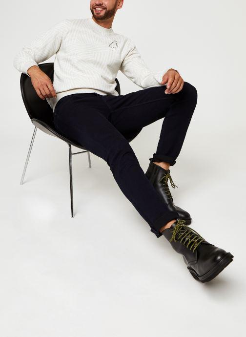 Vêtements Scotch & Soda Crew Neck Sweat With Aop Blanc vue bas / vue portée sac