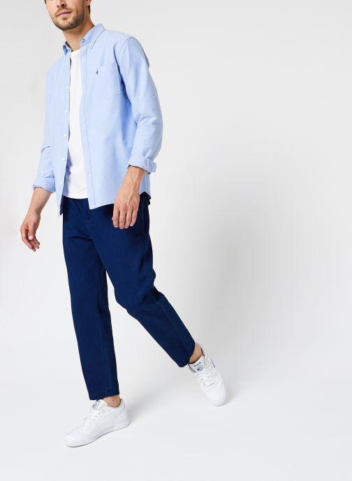 Vêtements Scotch & Soda Worked Out Indigo Chino Bleu vue bas / vue portée sac