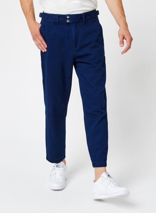 Vêtements Scotch & Soda Worked Out Indigo Chino Bleu vue détail/paire