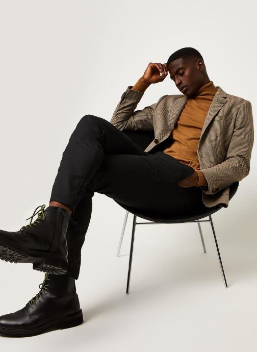 Vêtements Scotch & Soda Classic Single-Breasted Structured Blazer Marron vue bas / vue portée sac