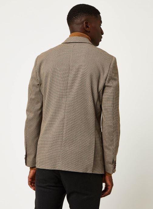 Vêtements Scotch & Soda Classic Single-Breasted Structured Blazer Marron vue portées chaussures