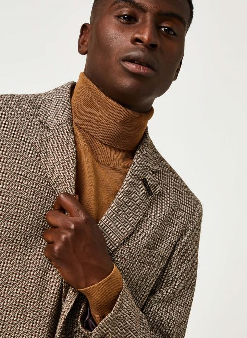 Vêtements Scotch & Soda Classic Single-Breasted Structured Blazer Marron vue face