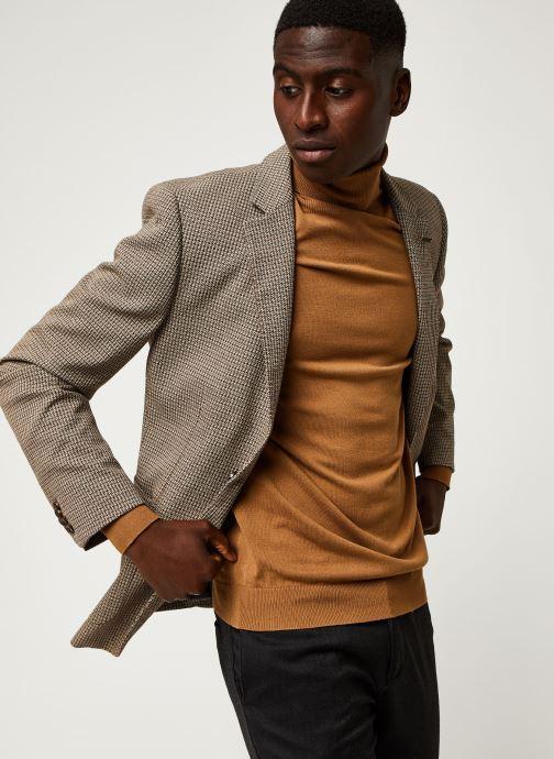 Vêtements Scotch & Soda Classic Single-Breasted Structured Blazer Marron vue droite