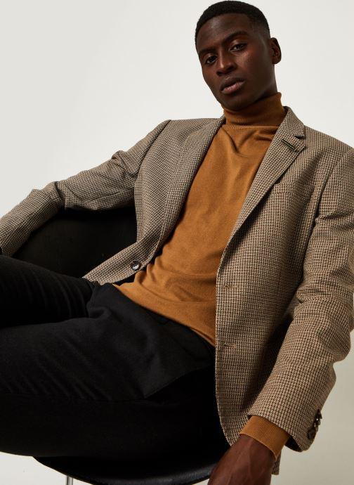Vêtements Scotch & Soda Classic Single-Breasted Structured Blazer Marron vue détail/paire