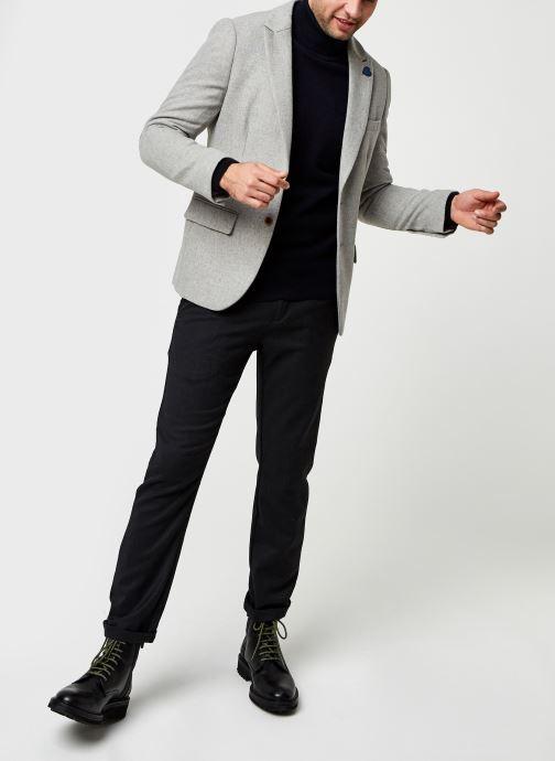 Vêtements Scotch & Soda Classic Single-Breasted Neps Wool-Blend Blazer Gris vue bas / vue portée sac
