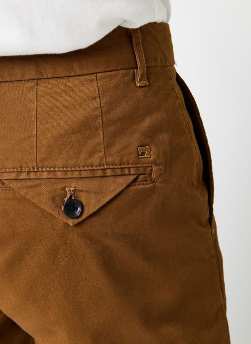 Vêtements Scotch & Soda Stuart - Classic Twill Chino With Stretch Marron vue face