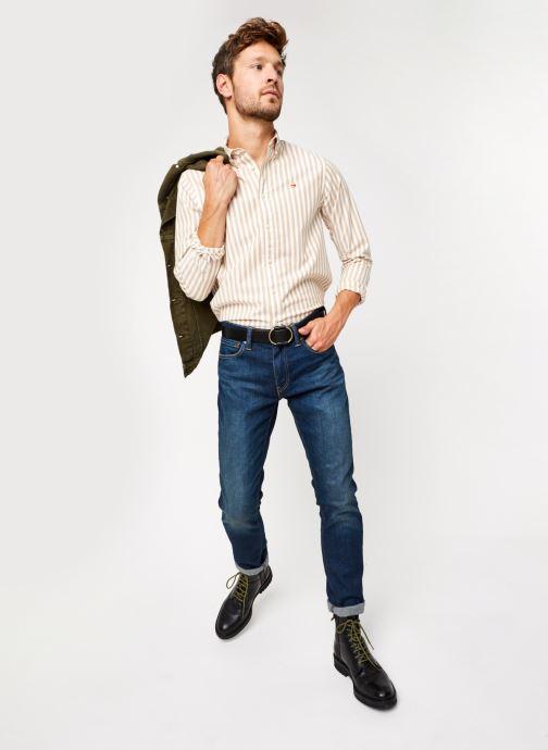 Vêtements Scotch & Soda Regular Fit - Classic Striped Oxford Shirt Multicolore vue bas / vue portée sac