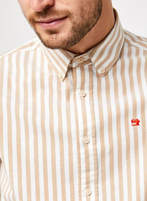 Vêtements Scotch & Soda Regular Fit - Classic Striped Oxford Shirt Multicolore vue face