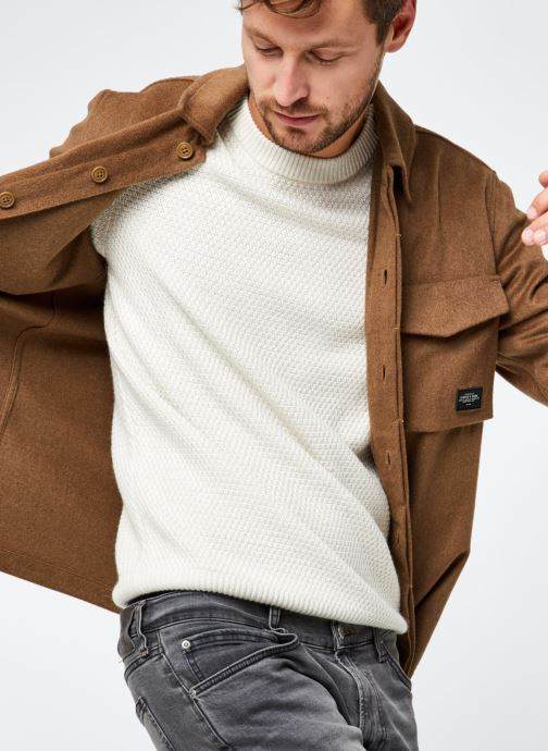 Seasonal Fit- Brushed Wool-Blend Overshirt