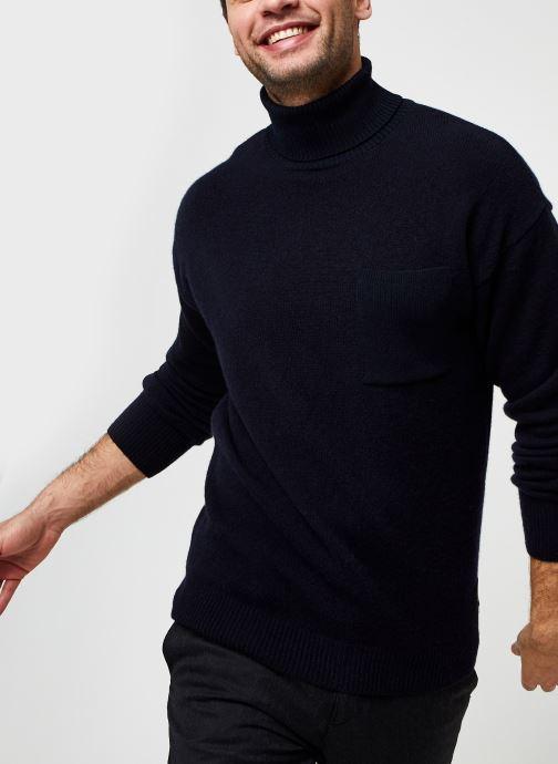 Tøj Accessories Wool-Blend Turtleneck Pull With Chestpocket