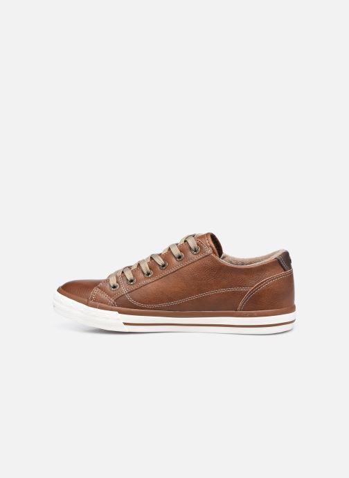 Baskets Mustang shoes Aplux Marron vue face
