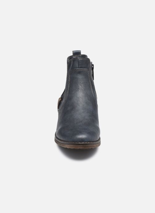 Bottines et boots Mustang shoes Milou Bleu vue portées chaussures