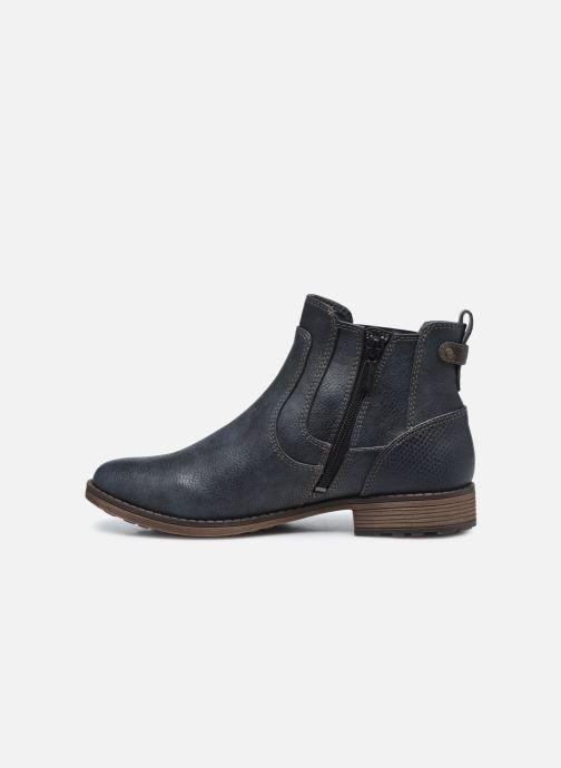 Bottines et boots Mustang shoes Milou Bleu vue face