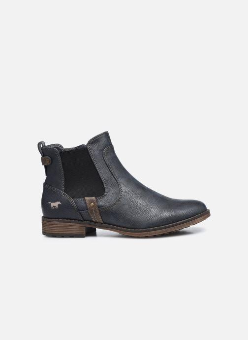 Bottines et boots Mustang shoes Milou Bleu vue derrière