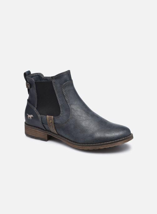 Bottines et boots Mustang shoes Milou Bleu vue détail/paire