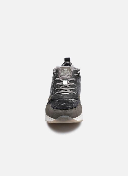 Baskets Mustang shoes Zofia Gris vue portées chaussures