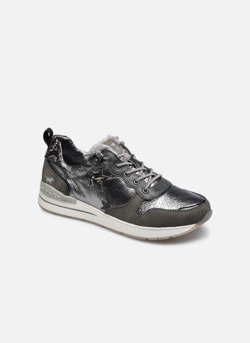 Baskets Mustang shoes Zofia Gris vue détail/paire