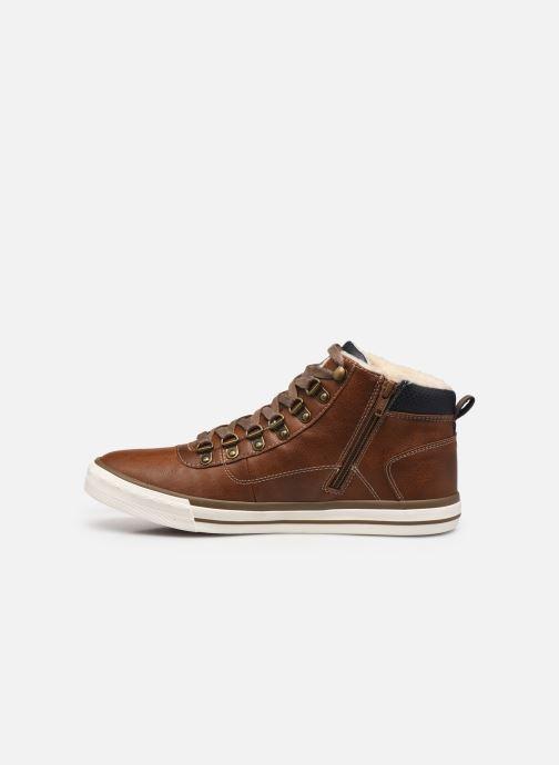 Baskets Mustang shoes Drevy Marron vue face