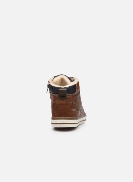Baskets Mustang shoes Drevy Marron vue droite