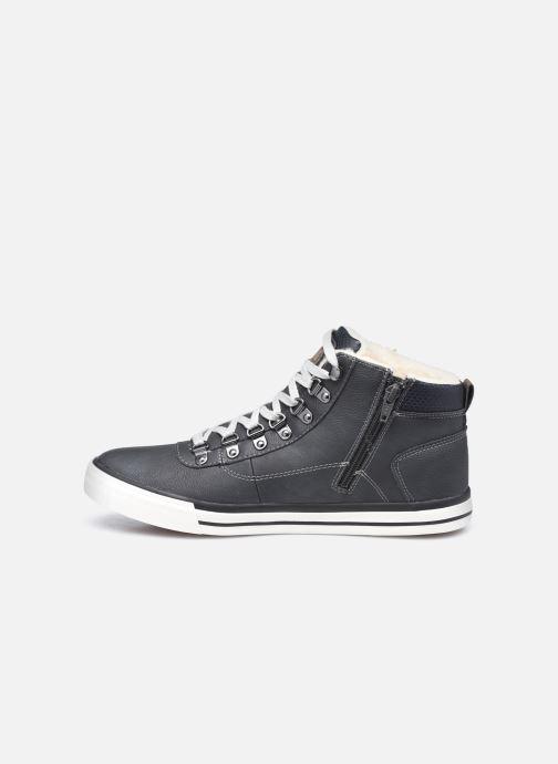 Sneaker Mustang shoes Drevy schwarz ansicht von vorne