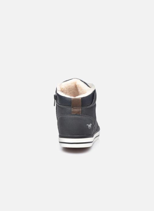 Sneaker Mustang shoes Drevy schwarz ansicht von rechts