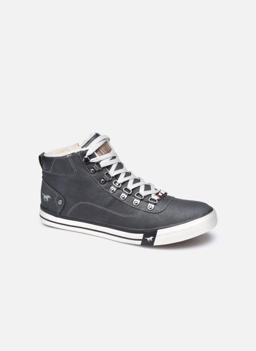 Baskets Mustang shoes Drevy Noir vue détail/paire