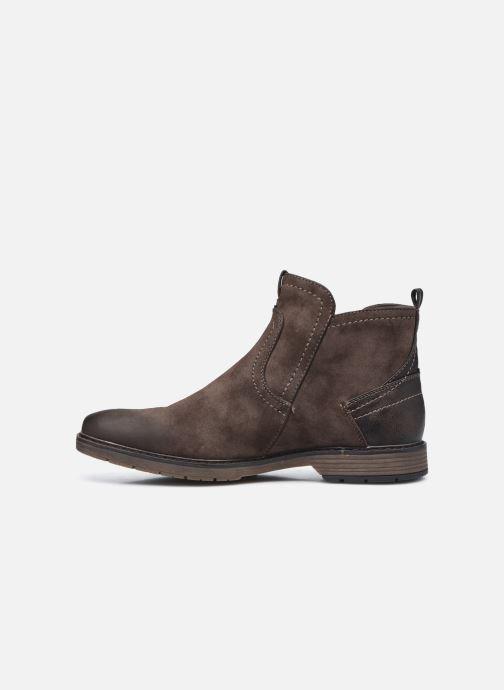 Bottines et boots Mustang shoes Eskilo Marron vue face