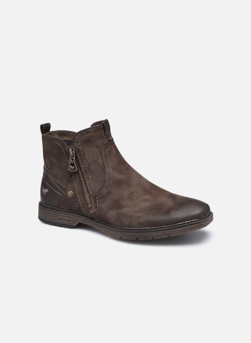 Bottines et boots Mustang shoes Eskilo Marron vue détail/paire