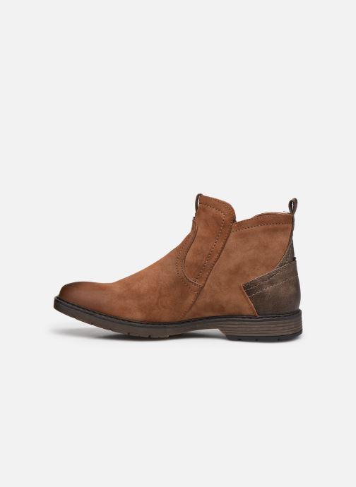 Stiefeletten & Boots Mustang shoes Eskilo braun ansicht von vorne