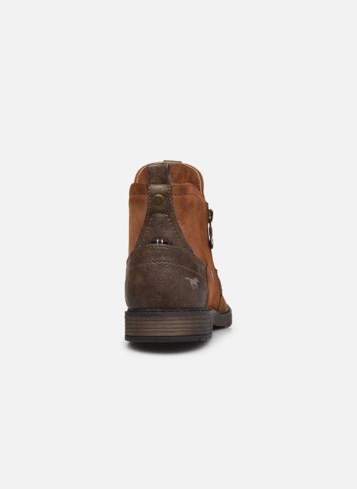 Bottines et boots Mustang shoes Eskilo Marron vue droite