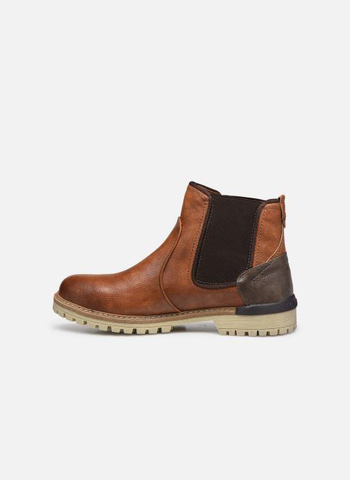 Bottines et boots Mustang shoes Jofry Marron vue face