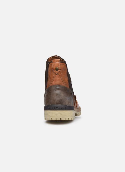 Bottines et boots Mustang shoes Jofry Marron vue droite