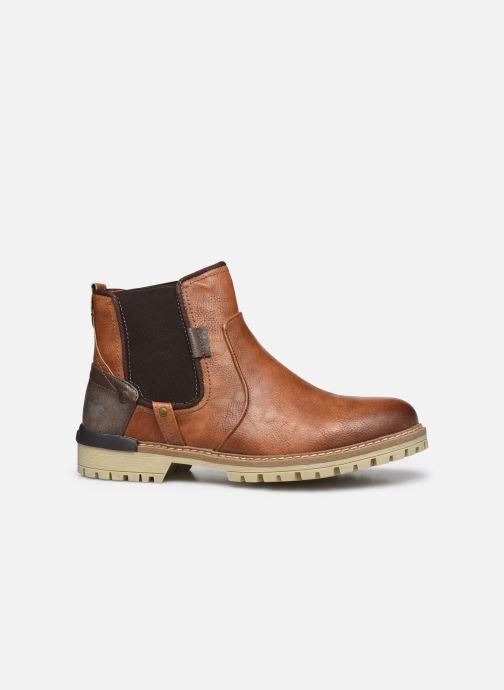 Bottines et boots Mustang shoes Jofry Marron vue derrière