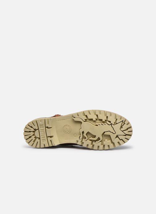 Stiefeletten & Boots Mustang shoes Jofry braun ansicht von oben