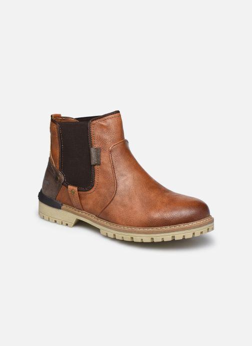Bottines et boots Mustang shoes Jofry Marron vue détail/paire