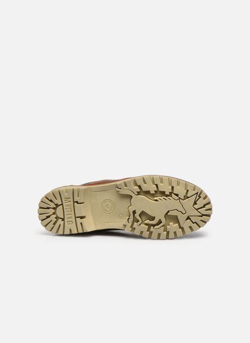 Stiefeletten & Boots Mustang shoes Turin braun ansicht von oben