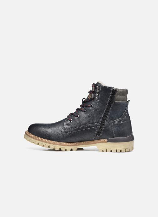 Bottines et boots Mustang shoes Bloon Bleu vue face