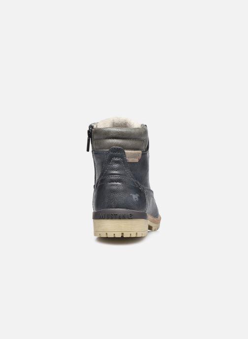 Bottines et boots Mustang shoes Bloon Bleu vue droite