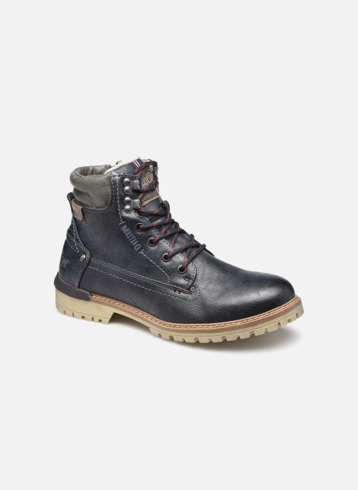Bottines et boots Mustang shoes Bloon Bleu vue détail/paire