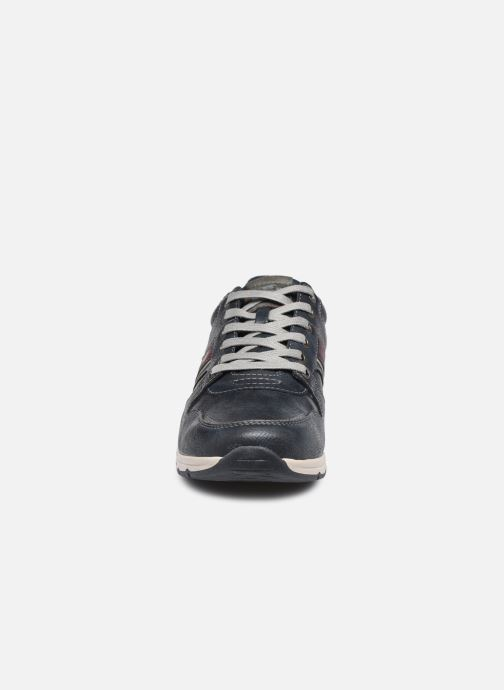 Sneakers Mustang shoes Plytas Azzurro modello indossato